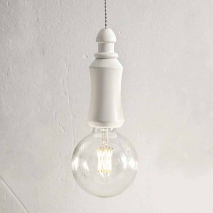 Keramische Shabby hanglamp Made in Italy - Fate Aldo Bernardi