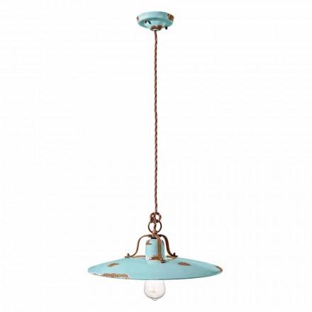 Lamp keramische schorsing en metal land Emily Ferroluce
