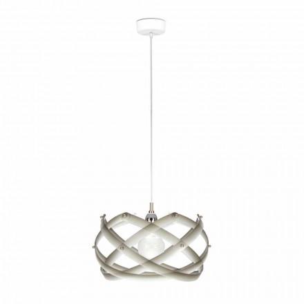 Lamp methacrylaat ophanging met affiches, diam.40 cm, Vanna