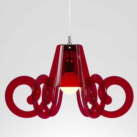 Opknoping lamp in modern design methacrylaat diam. 55cm Livia