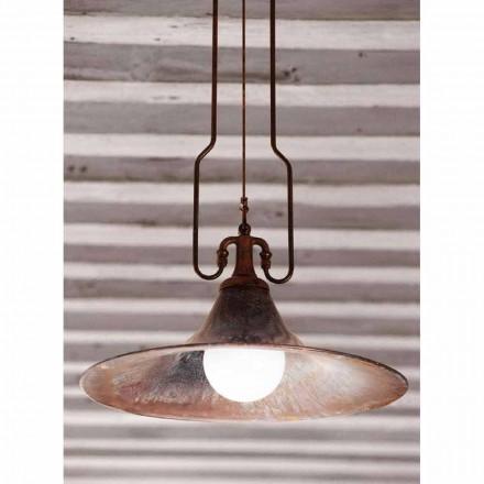 Hanglamp Messing en koper molen