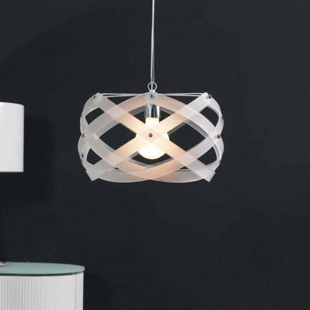 Moderne hanglamp methacrylaat 40 cm diameter Vanna