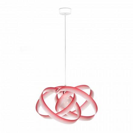 Moderne hanglamp in Ferdi methacrylaat, diameter 56 cm