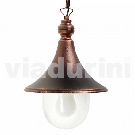 Hanglamp buiten gemaakt van aluminium, gemaakt in Italië, Anusca