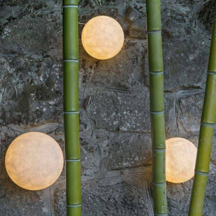 Wandmodel buitenlamp In-es.artdesign A. Moon Out in nebulite