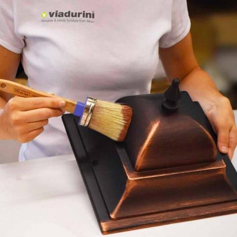 Buitenwandlamp van gegoten aluminium gemaakt in Italië, Anusca