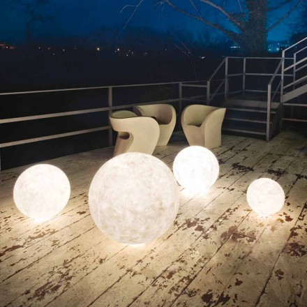 Outdoor vloerlamp In-es.artdesign Ex.Moon in nebulite