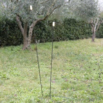 Buitenlamp in geverfd ijzer Minimal Design Made in Italy - Filo