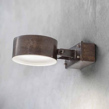 Messing wandlamp gemaakt in Italië - Acelum Aldo Bernardi