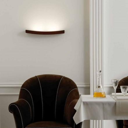 Lamp modern design stalen wand L50x H3,5xSp.10 cm Eldora
