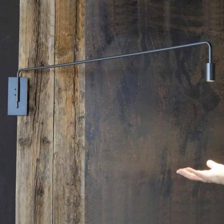 Handgemaakte wandlamp met ijzeren structuur Made in Italy - Solana