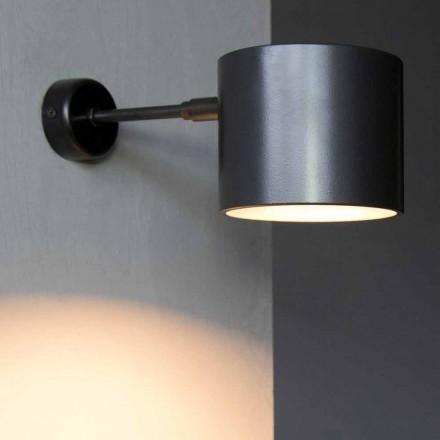 Wandlamp in ijzer en artisanaal aluminium Made in Italy - Trema