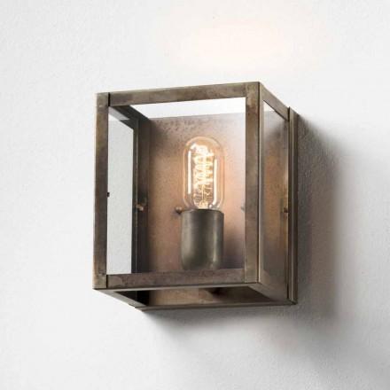 Iron wandlamp industriële stijl Londen Il Fanale