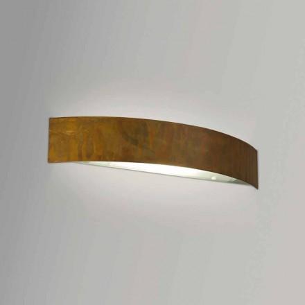 Lamp in modern design Brass 47xH8x dikke muur. 8 cm Blandine