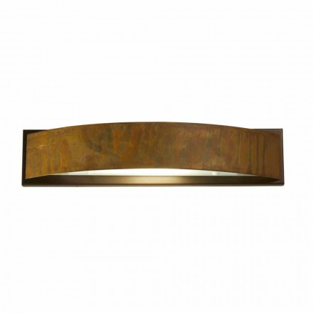 Wandlamp messing en staal H 49x 10 cm xsp.9 Blandine