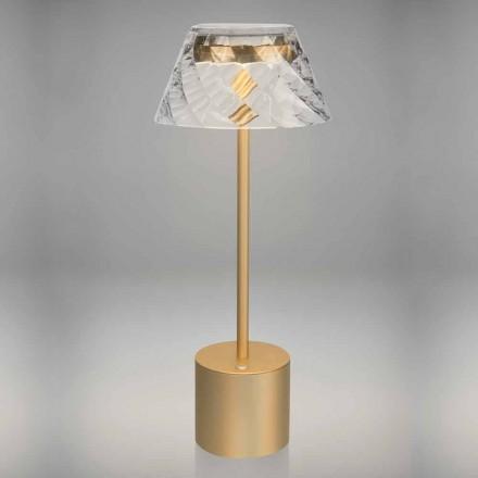 Design Touch Led tafellamp in metaal en acryl - Tagalong