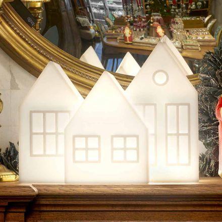 Tafellamp Casette Led Wit of Rood Design Slide Made in Italy - Kolme