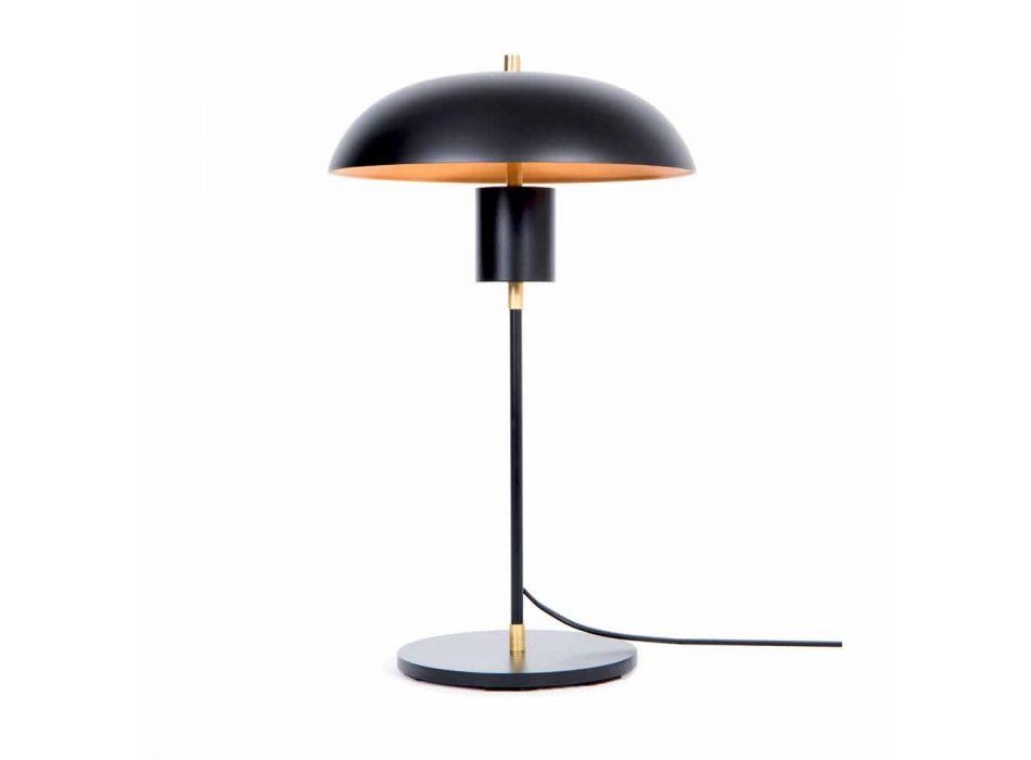 Artisanale design tafellamp in ijzer en aluminium Made in Italy - Marghe