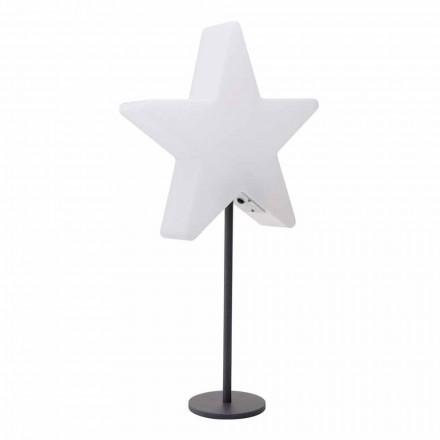 Moderne design tafellamp, ster met of zonder sokkel - Littlestar