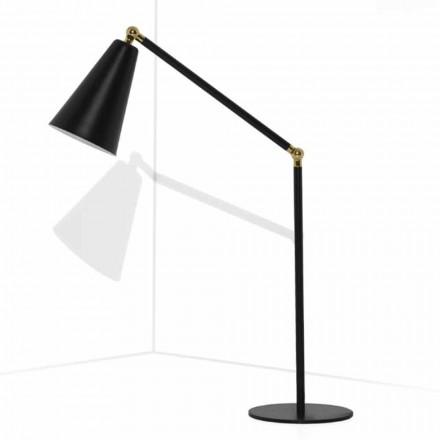 Moderne tafellamp met metalen structuur Made in Italy - Zaira