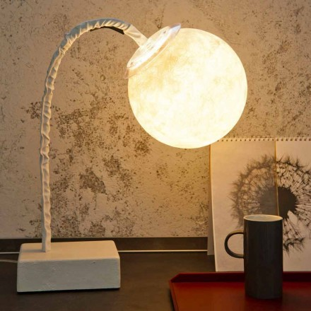 Tafellamp moderne flexibele steel In-es.artdesign MicroT Luna