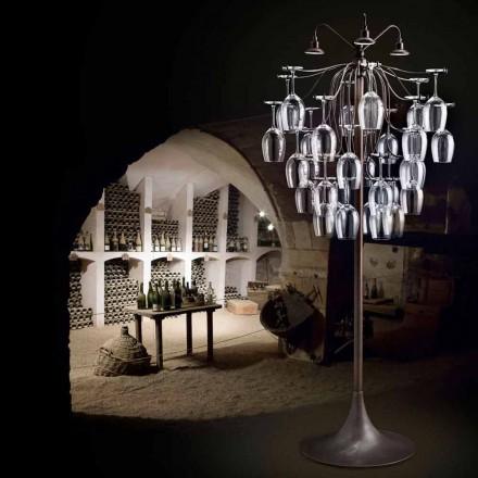 Floor lamp glazen vernietigde 30 Sauvignon
