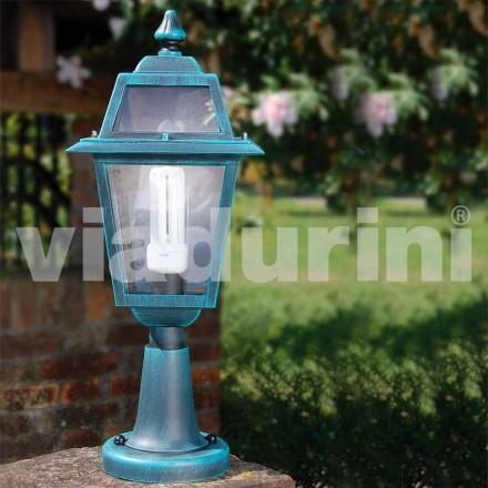 Buitenlamp gemaakt van aluminium, gemaakt in Italië, Kristel