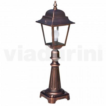 Buitenlamp gemaakt van aluminium, geproduceerd in Italië, Aquilina