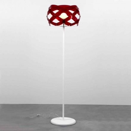 Staande lamp modern design Vanna methacrylaat, H 187 cm