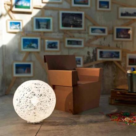 Vloerlamp modern design Mady 48xH 52cm diameter, made in Italy