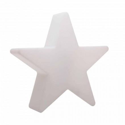 Witte of rode stervormige staande lamp, modern design - Ringostar