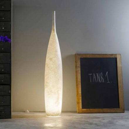 Moderne design H142cm staande lamp In-es.artdesign Tank 1 gekleurd