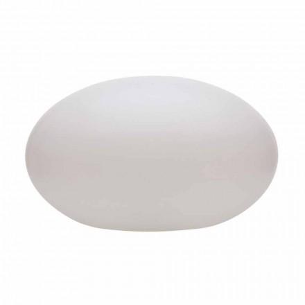 Led-, zonne- of E27 vloerlamp van gekleurd modern ovaal design - Uovostar