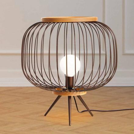 Lamp Hedendaags design geslepen stalen 48xH 52 cm Leira