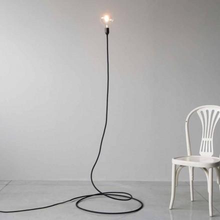 Moderne vloerlamp in handgemaakt koper en katoen gemaakt in Italië - Guapa