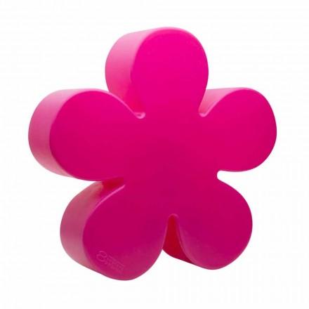 Vloer- of tafellamp in de vorm van een gekleurde bloem, zonne-aanval - Fiorestar