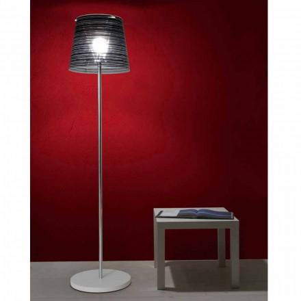 Floor lamp verblinding schaduw en een kleurrijk interieur, Shana H183cm