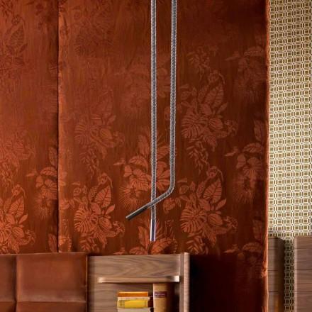 Grilli Snake made in Italy lederen en metalen designlamp