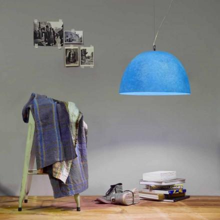 Suspension design lamp In-es.artdesign H2o Gekleurde nebulite