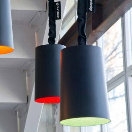 Hanger design lamp In-es.artdesign Verf hars schoolbord
