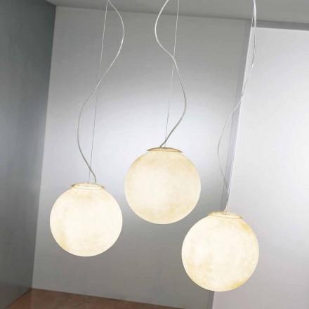 Suspension designlamp In-es.artdesign Tre Lune in verneveling