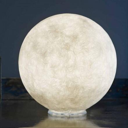 Tafellamp In-es.artdesign T.moon in wit nebuliet