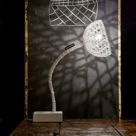 Tafelontwerplamp In-es.artdesign T2-structuur flexibele steel