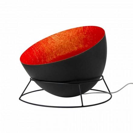 Stalen en nevelliet vloerlamp In-es.artdesign H2o F gekleurd