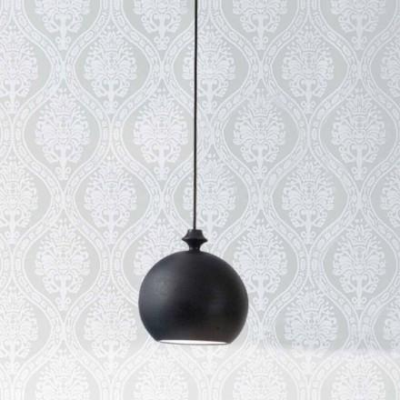 De keramische lamp Lustri 5 Aldo Bernardi, met rozet 1 uitgang.