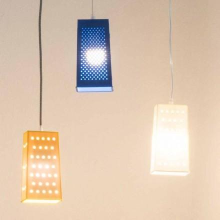 Hanglamp met hanglamp In-es.artdesign Cacio & Pepe 2 gekleurd