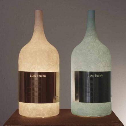 Tafellamp in gekleurde nebulite In-es.artdesign Luce Liquid1