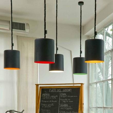 Moderne hanglamp In-es.artdesign Bin Resin-schoolbord