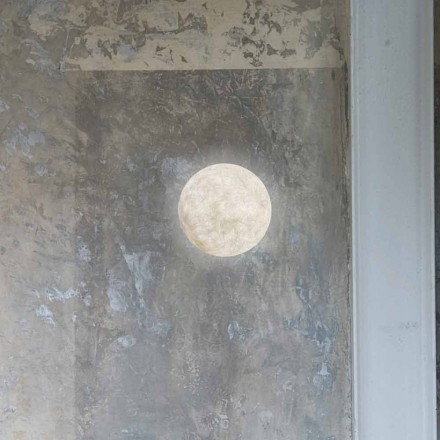 Moderne wandlamp In-es.artdesign A. Moon in Nebulite