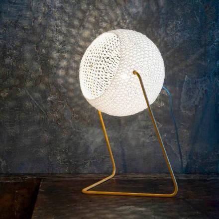 Moderne tafellamp In-es.artdesign Handgemaakte katoenen T1 textuur